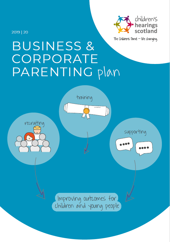 CHS Business & Corporate Parenting Plan 2019-20