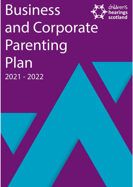 CHS Business and Corporate Parenting Plan 2021-22